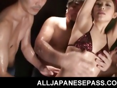 mina yoshihara oriental gal in a wild orgy