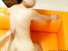 curly japanese engulfing and fucking