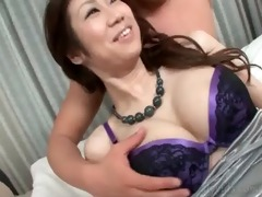 oriental floozy doing oral-service
