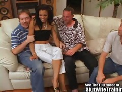 sexy butt blackasian wife group fucked!