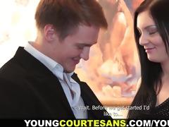 youthful courtesans - gratification on each level