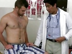 perverted oriental homosexual doctor examining