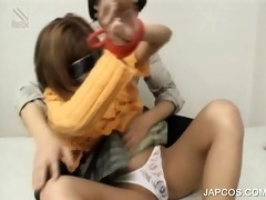 fastened up japanese legal age teenager cutie