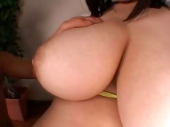 plump japanese rin aokis big scoops
