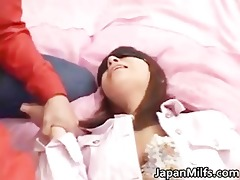 akane mochida hawt oriental model enjoys part6