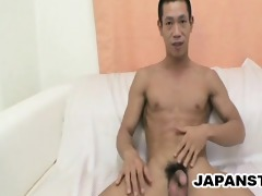 japanese lad masturbate on camera