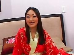 hawt a-hole oriental evelyn lin gets her pleasant