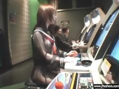 japanese gal flashing and having sex video-05